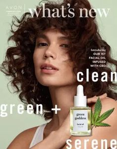 Avon is going Clean, Green and serene in this Campaign Introducing Green Goddess CBD Facial Oil. Every BODY need a little TLC with no THC. Introducing CBD Nourishing Body Cream for those extra dry areas. The Face Shop, Brochure Online, Avon Brochure, Avon Products, Perfectly Posh, Etude House, Avon Catalog, Avon Online, Green Goddess