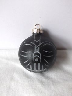 Star Wars Darth Vader Painted Holiday Ornament by GingerPots, $16.00