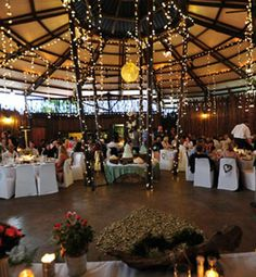 Durban Ballito wedding venues and reception venues - Rain Farm Game and Lodge Farm Games, Game Lodge, Kwazulu Natal, Logs, Wedding Venues, Reception, Rain, Table Decorations, Home Decor