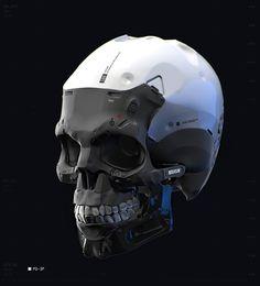 ArtStation - Cyborg Skull, by Nikolay Razuev Character Concept, Character Art, Character Design, Science Fiction, Robot Concept Art, Ex Machina, Robot Design, Mechanical Design, Mechanical Art