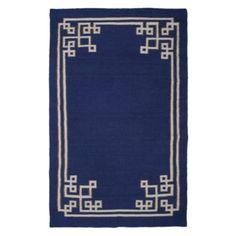 Athena Dhurrie Rug - Indigo | Area-rugs | Decor | Z Gallerie