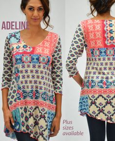 219605c27fb Amma Design Adeline tunic is hand made in our Torrance CA facility.