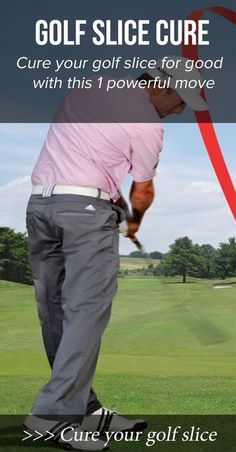 Fixing your slice is critical to playing better golf and enjoying the game more. Learn 1 powerful move this cures your golf slice and lowers your scores immediately. Cheap Golf Clubs, Used Golf Clubs, Golf Pride Grips, Golf Club Grips, Golf Swing Analyzer, Golf Slice, Golf Now, Golf Gps Watch, Golf Tips Driving