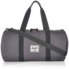 ff07e59c73a3e3 Amazon.com   Herschel Sutton Volume Duffel Bag, Mid Grey Crosshatch, One  Size   Travel Totes