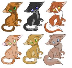 2 is mine pretty eyes :3 THEY ALL HAVE PRETTY EYES AND FUR THO XD