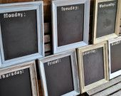 framed blackboard for daily specials