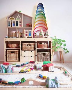 On His Regal With 3 5 Years Classroom Environments Playroom - Playroom Ideas - Playroom Montessori, Montessori Blog, Toddler Rooms, Baby Boy Rooms, Baby Room, Girl Rooms, Play Spaces, Kid Spaces, Small Playroom