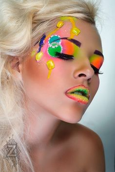Tatyana Zolotashko Makeup Stunning Work | Fantasy | Candy #colors