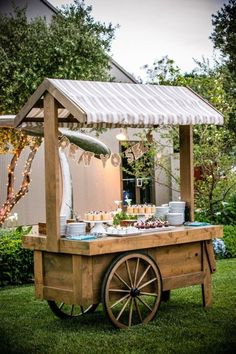 Set up your own little food truck for your guests!