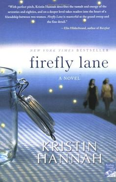 a reflection of my reading of firefly lane a book by kristin hannah Download the app and start listening to beneath a scarlet sky  from the number-one new york times bestselling author comes kristin hannah  firefly lane, fly.