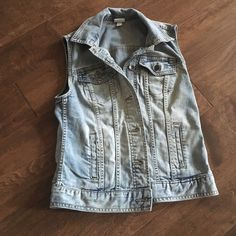 Mossimo sleeveless denim jacket New without tags from target Mossimo Supply Co Jackets & Coats Vests