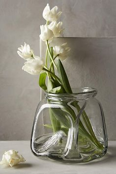Pinched Glass Vase - anthropologie.com #anthrofave