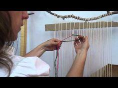 Embarrilado. Telar decorativo, ideal para troncos de árboles - YouTube