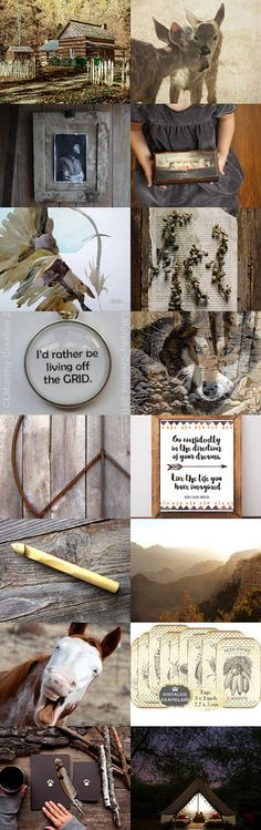brave: to live deliberately . . . by Korinne on Etsy--Pinned+with+TreasuryPin.com