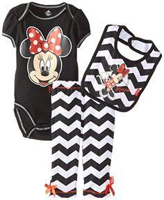 Disney Baby Baby-Girls Newborn Minnie Mouse 3 Piece Striped Bodysuit Bib and Pant, Black, 0-3 Months Disney http://www.amazon.com/dp/B00QJ3XTKA/ref=cm_sw_r_pi_dp_8vTHvb0Q26VBK