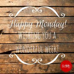 Happy Monday! www.thebettsteam.com #bettsteam