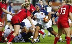 EN IMAGES. Rugby féminin : le rêve est fini pour les Bleues - Le Parisien - 14/08/2014