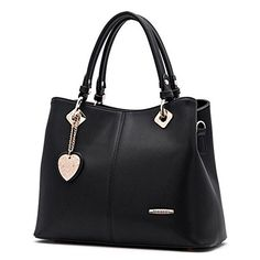 Guanta 2016 Spring New Design Bucket Female Bag Big brand High Grade Shoulder Handbag(Black)