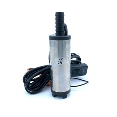 buy submersible diesel fuel water oil pump diameter 38mm stainless steel dc 12v 24v 20lmin 40w car #electric #oil #pump