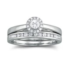 I Said Yes™ 1/3 CT. T.W. Certified Diamond Bridal Set    found at @JCPenney