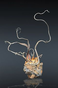 Native Silver - Freiberg District, Erzgebirge, Saxony, Germany Size: 15.0 × 9.0 cm