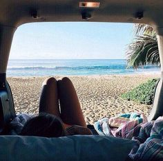 camping in the back of your car with this view is never a bad idea.