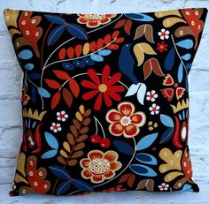 Ikea Nordic Flowers Tigeroga Cushion Cover 16  18  20  22  24