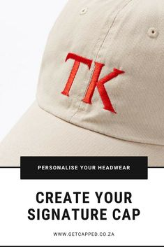 Personalised YOUR headwear. Design a personalised cap online to match your favourite outfit😀 Embroidered Caps, Shop Now, Baseball Hats, Beanie, Outfits, Shopping, Design, Fashion, Moda