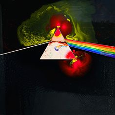 Pink Floyd - Dark Side of the Moon Liquid - A by Storm Thorgerson | Hypergallery Album Art Prints
