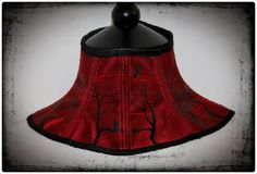 Silk Banshee Steel Boned Neck Corset Posture Collar (70.00 GBP) by GoreCouture