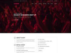 Sparrk - Event PSD Template by DevItems LLC