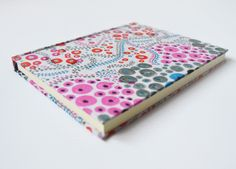 notebook of fabric by moniquilla - www.moniquilla.com