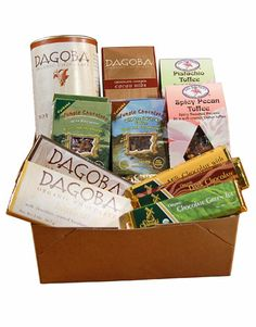 Green food gifts for the gourmet on your list.