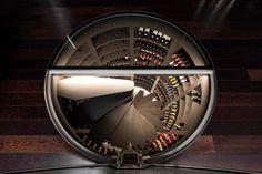 Spiraalvormige wijnkelders (Van Edwin Pesschier)