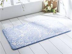 Samara Kaydırmaz Banyo Paspası 57x100 Mavi