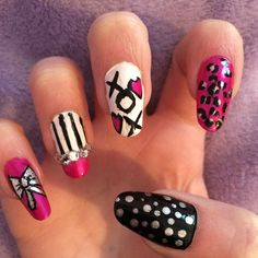 Vicky I'm doing this to my nails!!