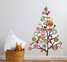 Árboles de Navidad con Vinilos   Accesorios y Objetos
