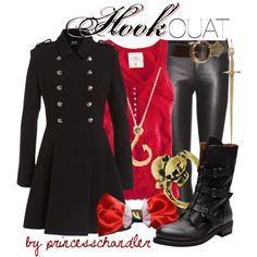 """Captain Hook- Once Upon a Time"" by princesschandler on Polyvore"