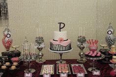 "Pink/Zebra Theme / Baby Shower/Sip & See ""Zebra Theme Baby Shower "" | Catch My Party"