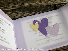 {Bellas} Papierträume: Hochzeit Wedding Crafts