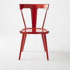 Splat Chair - Vermillion #westelm