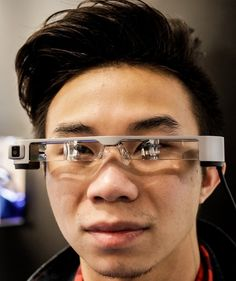 3cab6a5b0f34 Epson Moverio BT-300 smart glasses mix high-res OLED displays with augmented  reality