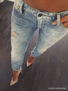 a399ee2db017 Street style fashion - Denim And Supply Blue Women s Washed Ripped Skinny  Jeans