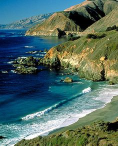 Done: California's Pacific Coast Highway driven from Mex to Monterrey,CA