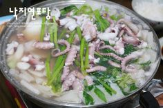 A Food, Food And Drink, Korean Food, Kimchi, Soups And Stews, No Cook Meals, Potato Salad, Healthy Recipes, Chicken