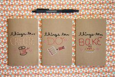 Embroidered Craft Notebooks | Maker Crate