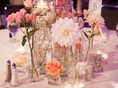 Centros de mesa para boda campiranos