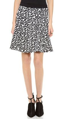 Rebecca Taylor Leo Flip Skirt - LOVE this soft subtle A line which just flares from the bottom rather than the top.