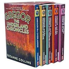 Book Infinity: Old Favorite Review: Gregor the Overlander Series