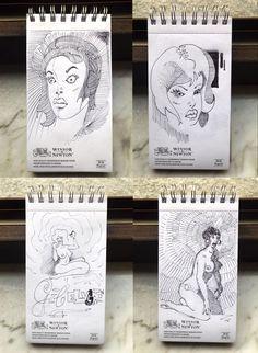Edu 5 min. Sketches, Lazzaro/ Edu on ArtStation at https://www.artstation.com/artwork/agdzR